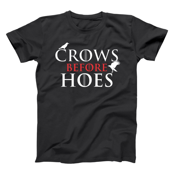 Crows Before Hoes Men's T-Shirt, T-Shirts - Meditation Essentials