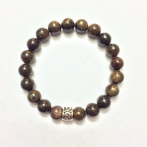 6mm Bronzite Bracelet, Jewelry - Meditation Essentials