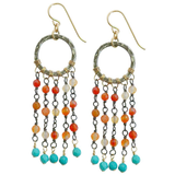 Clair Earrings in Sunset, Jewelry - Meditation Essentials