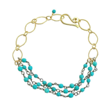 Fleur Bracelet in Turquoise, Jewelry - Meditation Essentials