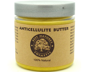 Anticelullite Butter. Made with alive, active, Cream - Meditation Essentials