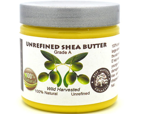 100% Pure Unrefined Shea Butter Yellow., Cream - Meditation Essentials