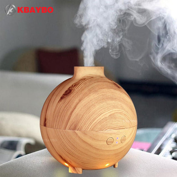 600ml Essential Oil Diffuser & Humidifier for Aromatherapy, Diffusers - Meditation Essentials