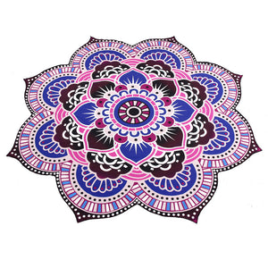 Mandala Towel Yoga Mat Bohemian Beach Pool Home Table Cloth Yoga Mat, Tapestry - Meditation Essentials