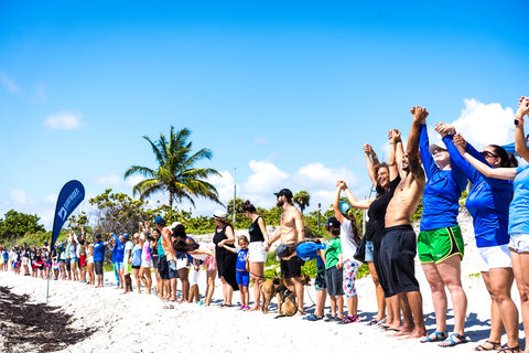 Surfrider Broward - Hands Across the Sand