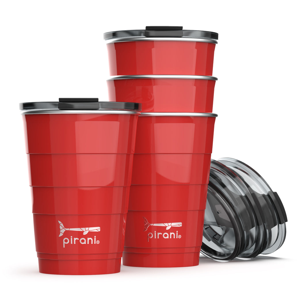 Insulated 16 oz. Party Tumbler - A Pack of 14 Cups