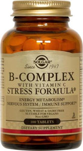 B-Complex with Vitamin C Stress Formula Tablets