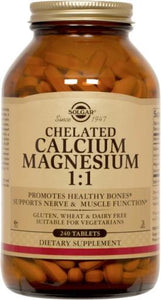 Chelated Calcium Magnesium 1:1 Tablets**