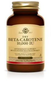 Dry Beta-Carotene 3,000 mcg Tablets