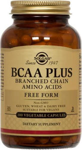 BCAA Plus Vegetable Capsules (Branched Chain Amino Acids)
