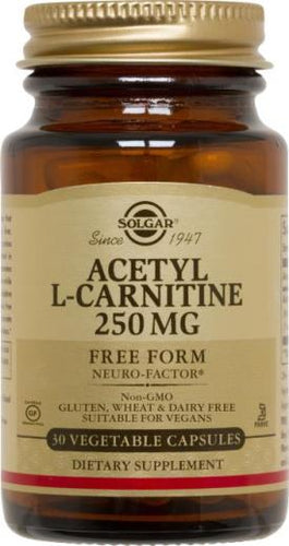 Acetyl L-Carnitine 250 mg Vegetable Capsules