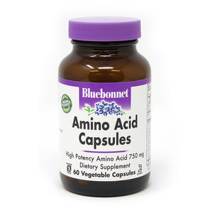 AMINO ACID 750 mg 60 VEGETABLE CAPSULES