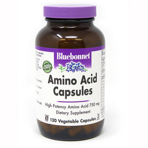 AMINO ACID 750 mg 120 VEGETABLE CAPSULES