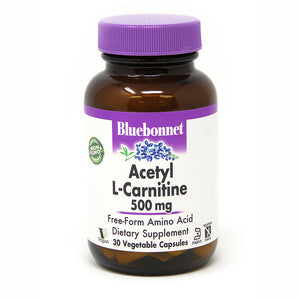 ACETYL L-CARNITINE 500 mg 30 VEGETABLE CAPSULES