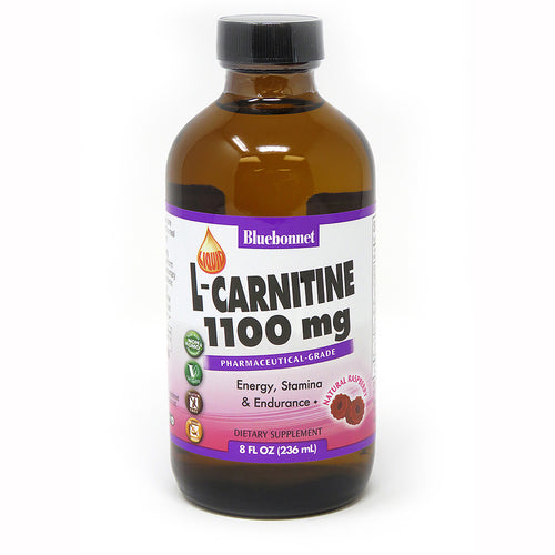 LIQUID L-CARNITINE 1100 mg RASPBERRY FLAVOR 8 fl oz
