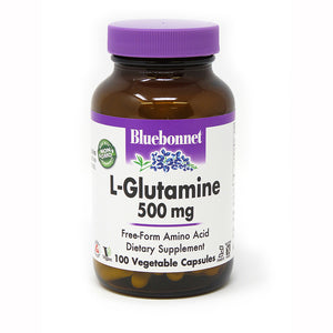 L-GLUTAMINE 500 mg 100 VEGETABLE CAPSULES