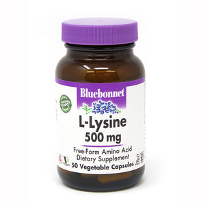 L-LYSINE 500 mg 50 VEGETABLE CAPSULES