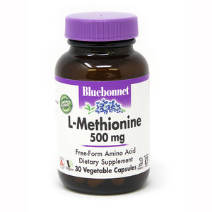 L-METHIONINE 500 mg 30 VEGETABLE CAPSULES