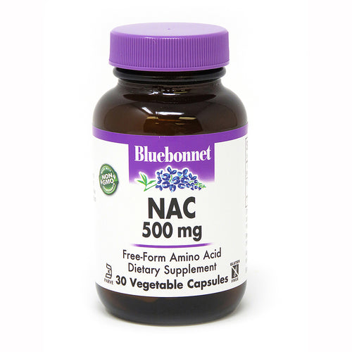 NAC 500 mg 30 VEGETABLE CAPSULES