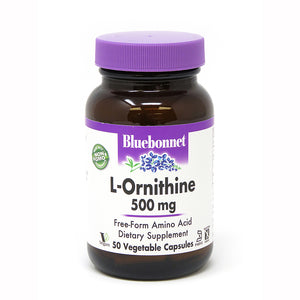 L-ORNITHINE 500 mg 50 VEGETABLE CAPSULES