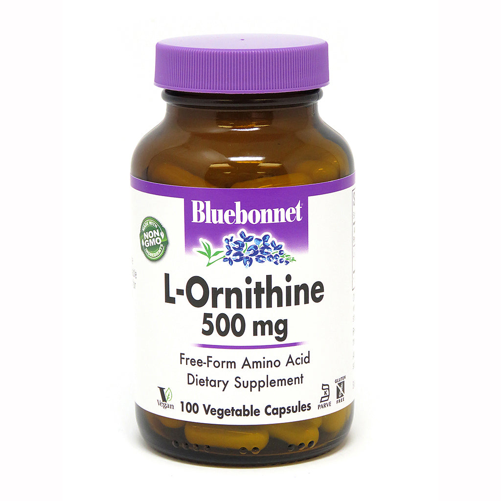 L-ORNITHINE 500 mg 100 VEGETABLE CAPSULES