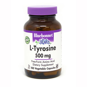 L-TYROSINE 500 mg 100 VEGETABLE CAPSULES