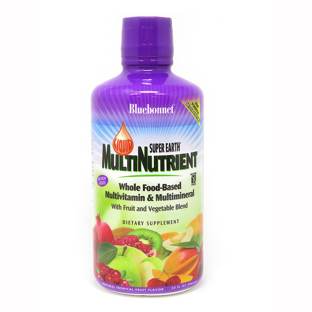 LIQUID SUPER EARTH® MULTINUTRIENT FORMULA TROPICAL FRUIT FLAVOR 32 fl oz