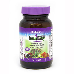 SUPER EARTH® SINGLE DAILY® MULTIPLE (Iron-Free) 30 CAPLETS