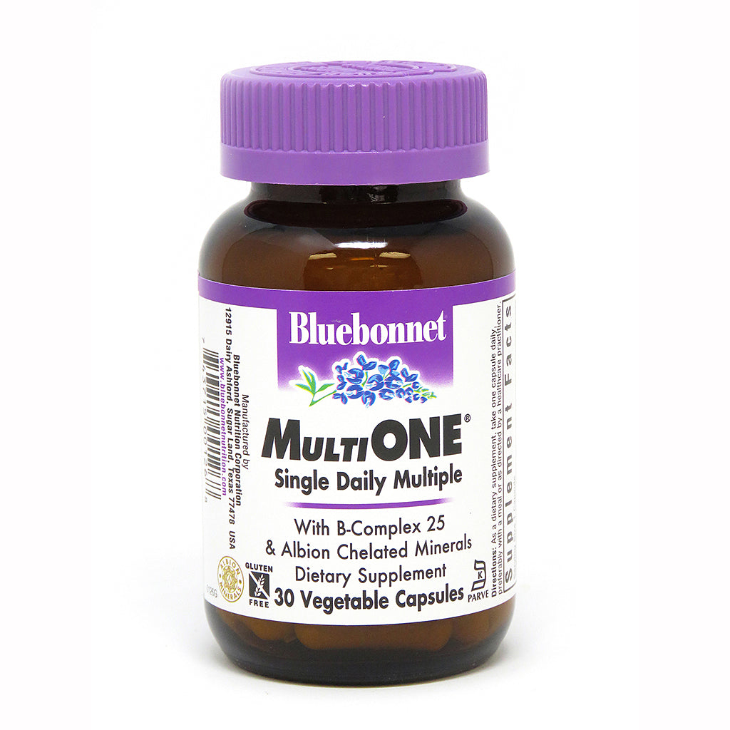 MULTI ONE® (With Iron) 30 VEGETABLE CAPSULES