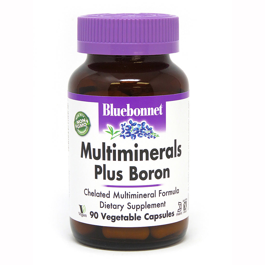 MULTIMINERALS PLUS BORON 90 VEGETABLE CAPSULES