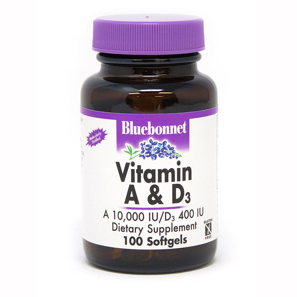 VITAMIN A & D3 10 , 000 IU/400 IU 100 SOFTGELS