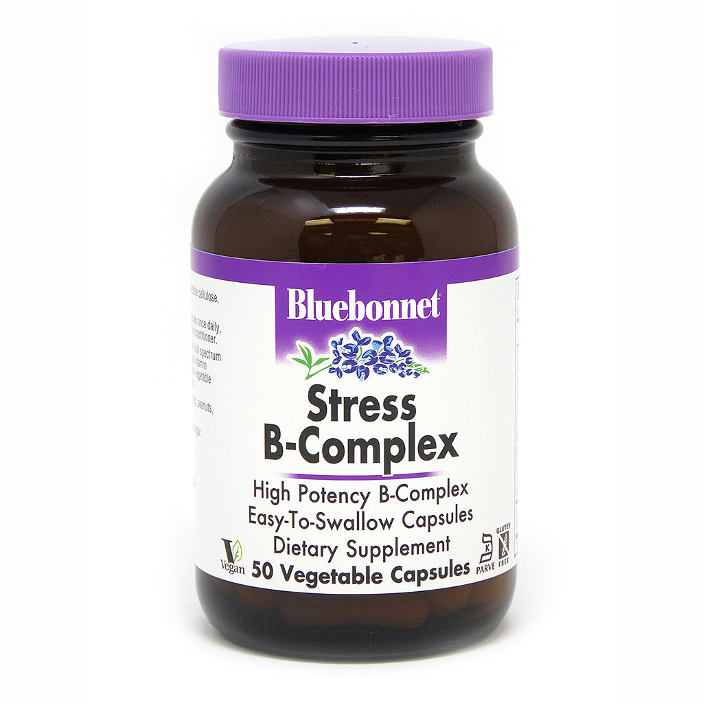 STRESS B-COMPLEX 50 VEGETABLE CAPSULES