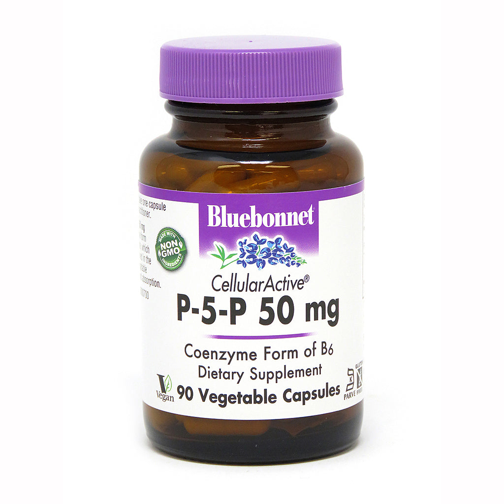 CELLULAR ACTIVE® P-5-P 50 mg 90 VEGETABLE CAPSULES