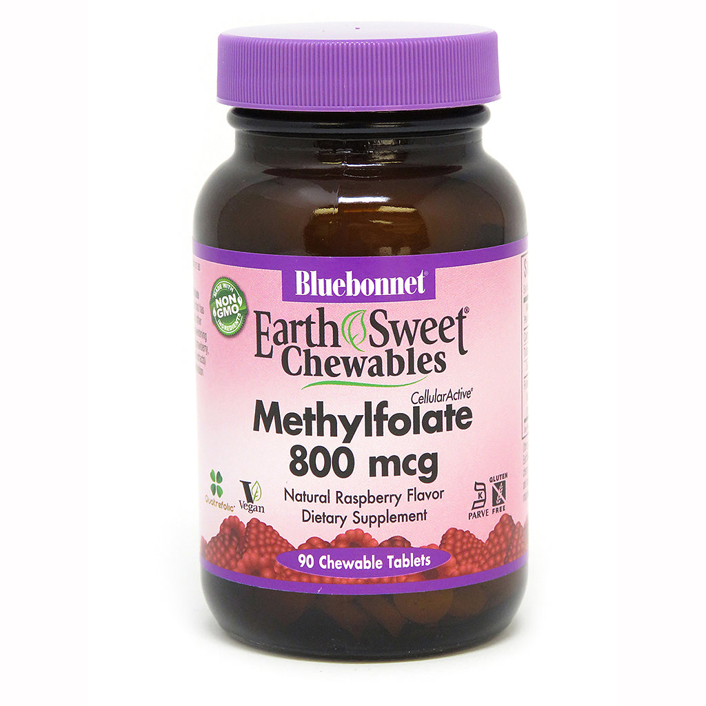 EARTHSWEET® CHEWABLES CELLULAR ACTIVE® METHYLFOLATE 800 mcg 90 TABLETS