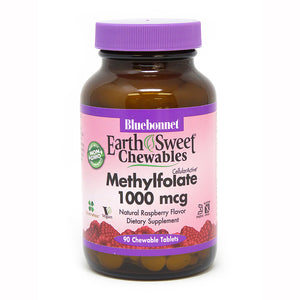 EARTHSWEET® CHEWABLES CELLULAR ACTIVE® METHYLFOLATE 1000 mcg 90 TABLETS