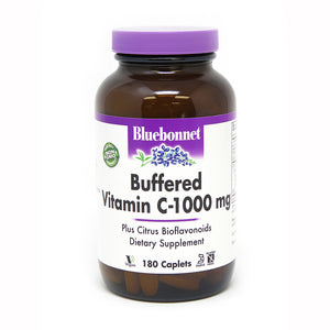 BUFFERED VITAMIN C-1000 mg 180 CAPLETS