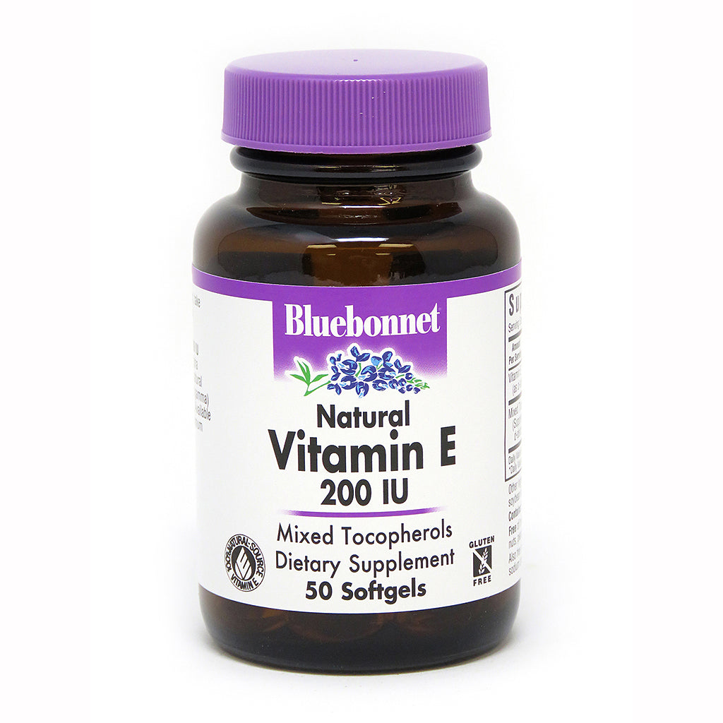 VITAMIN E 200 IU MIXED 50 SOFTGELS