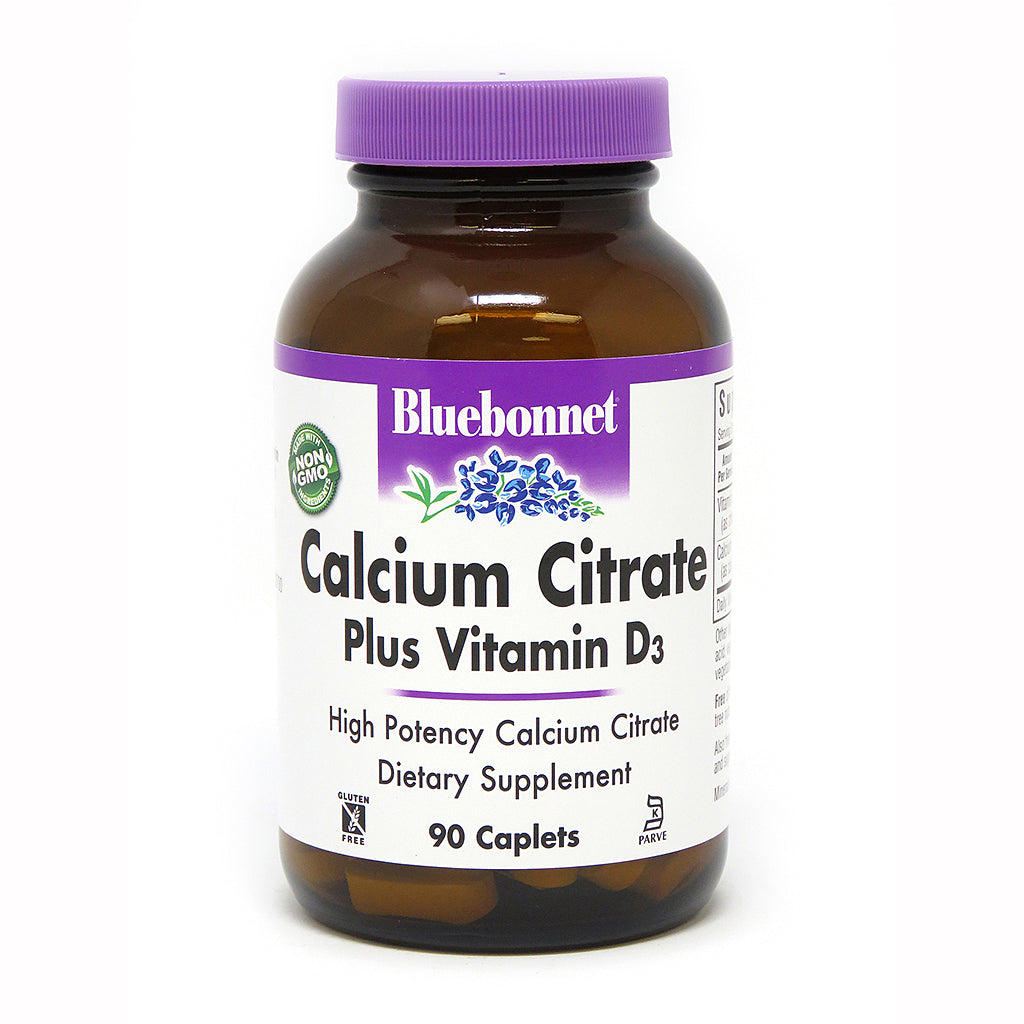CALCIUM CITRATE PLUS VITAMIN D3 90 CAPLETS