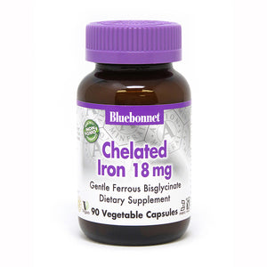 ALBION® CHELATED IRON 18 mg 90 VEGETABLE CAPSULES