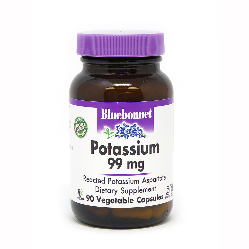 POTASSIUM 99 mg 90 VEGETABLE CAPSULES