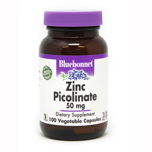 ZINC PICOLINATE 50 mg 100 VEGETABLE CAPSULES