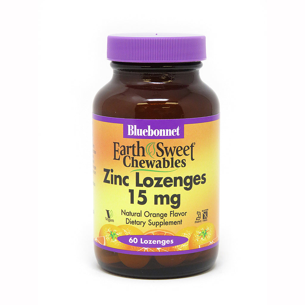 EARTHSWEET® CHEWABLES ZINC 15 mg 60 LOZENGES