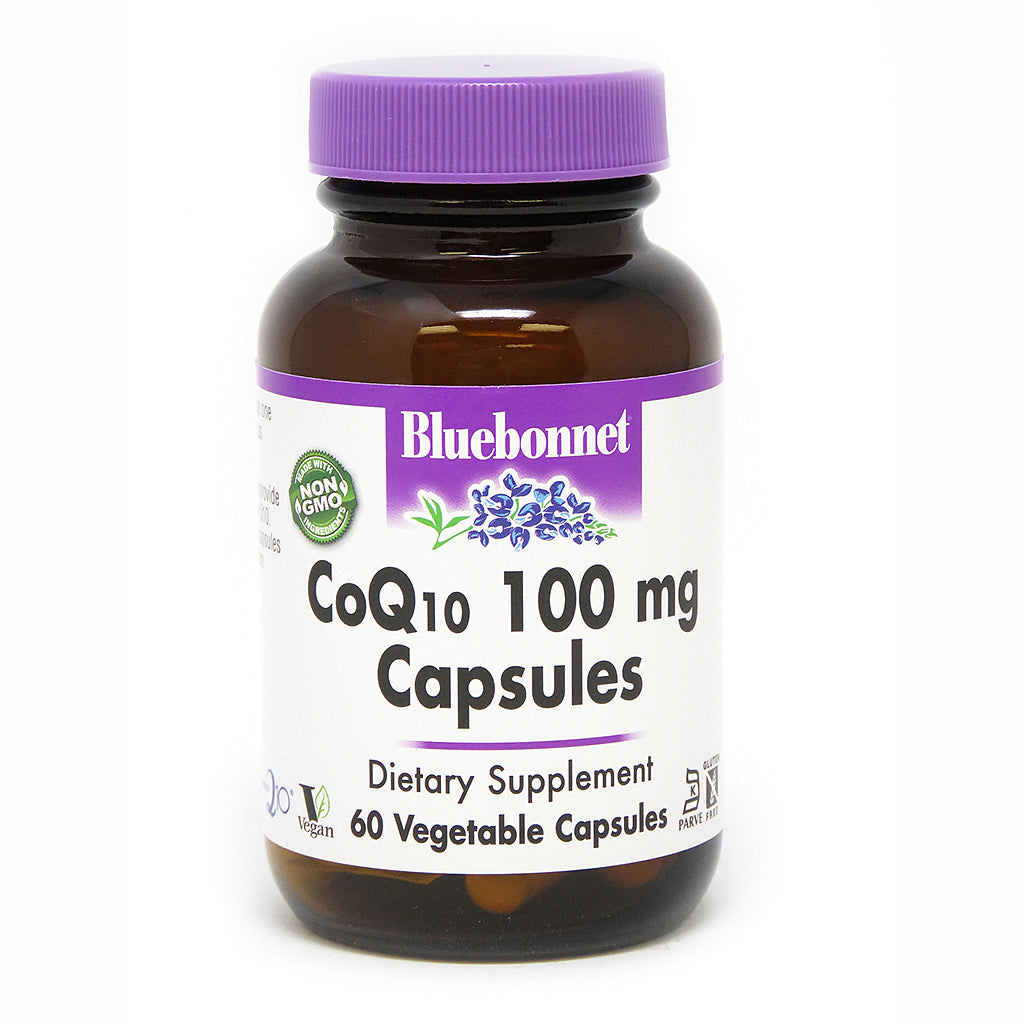 COQ10 100 mg 60 VEGETABLE CAPSULES