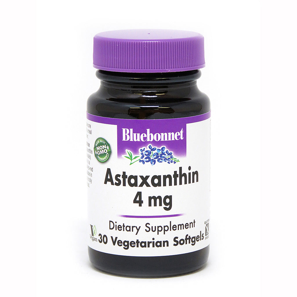 ASTAXANTHIN 4 mg 30 VEGETARIAN SOFTGELS
