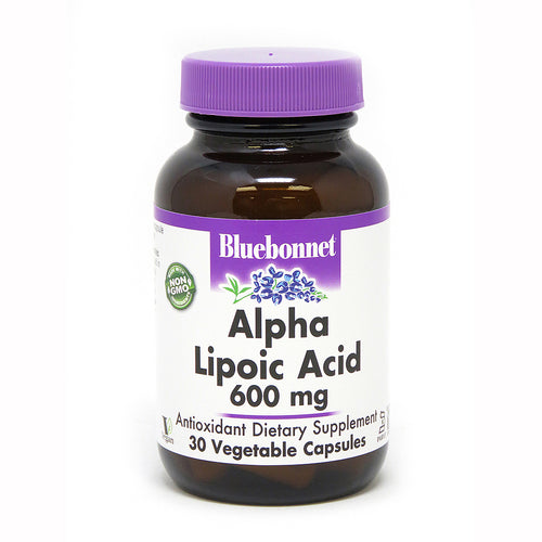 ALPHA LIPOIC ACID 600 mg 30 VEGETABLE CAPSULES