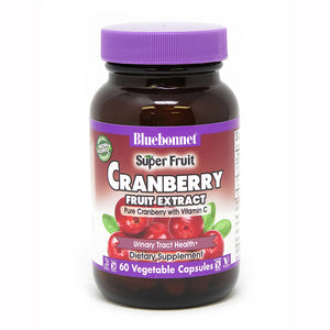 SUPER FRUIT CRANBERRY FRUIT EXTRACT 60 VEGETABLE CAPSULES