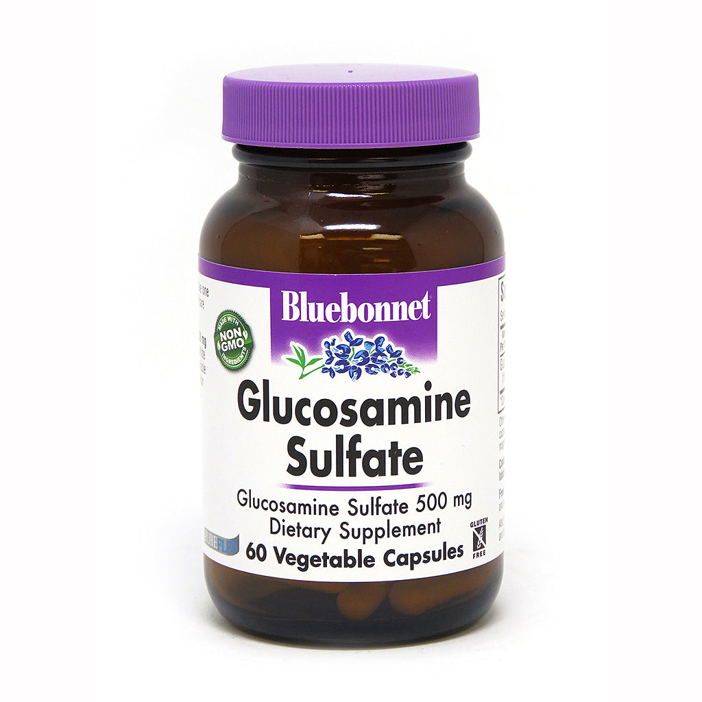 GLUCOSAMINE SULFATE 500 mg 60 VEGETABLE CAPSULES