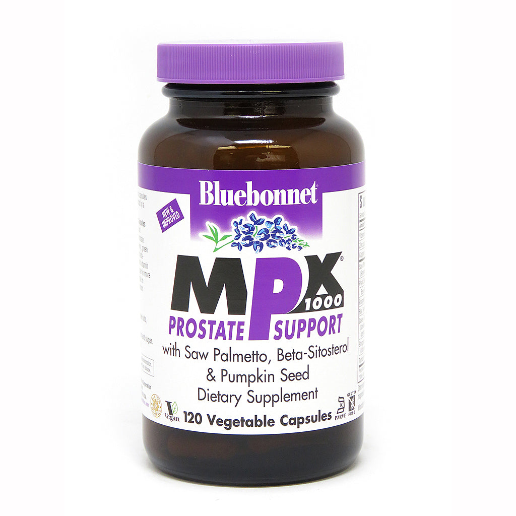 MPX 1000® PROSTATE SUPPORT 120 VEGETABLE CAPSULES