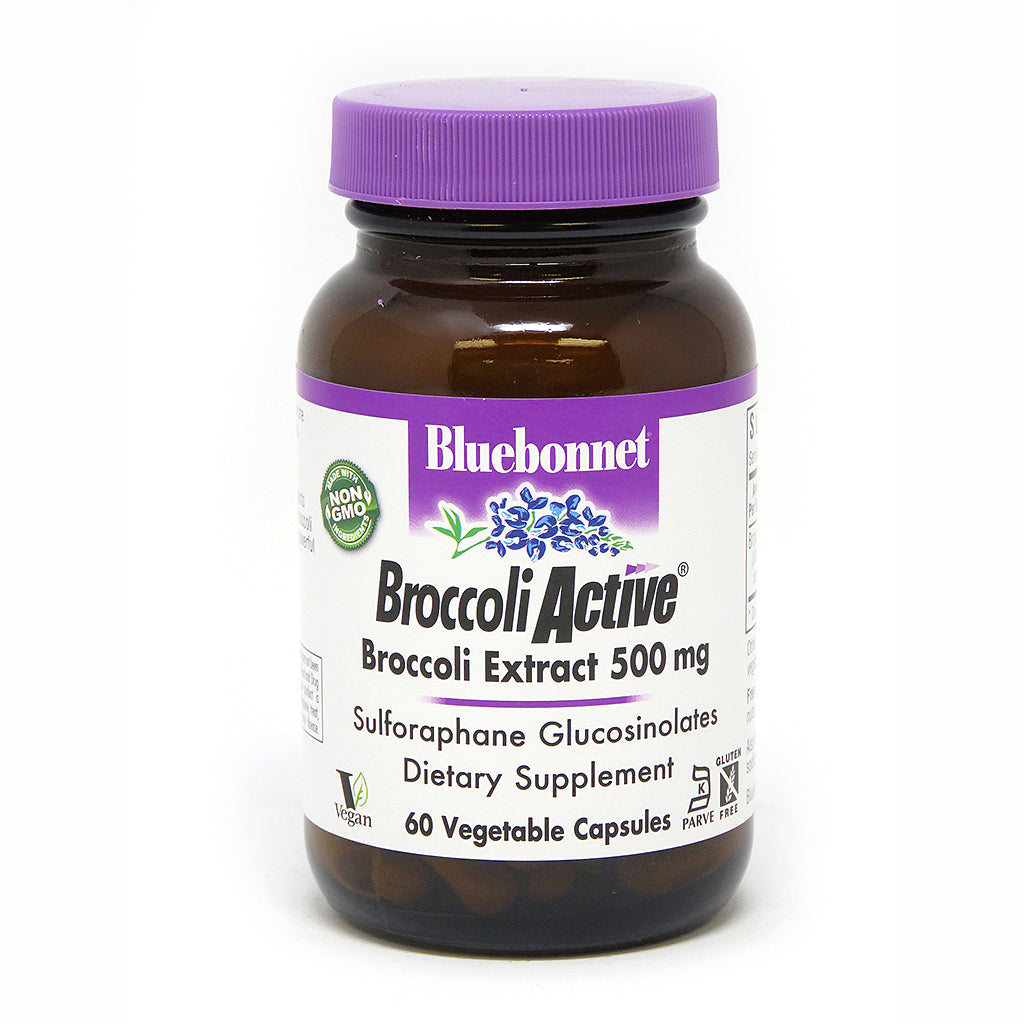 BROCCOLI ACTIVE® 500 mg 60 VEGETABLE CAPSULES
