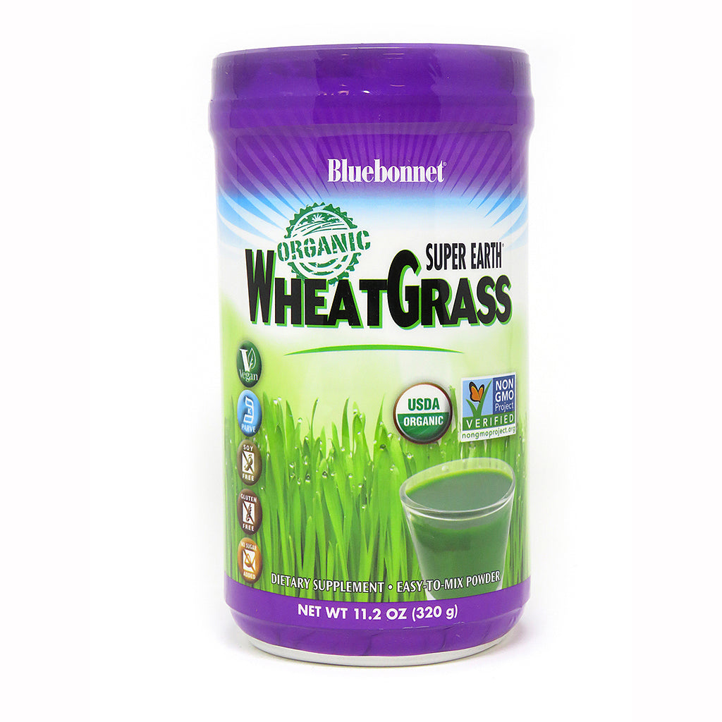 SUPER EARTH® ORGANIC WHEATGRASS POWDER 11.2 oz